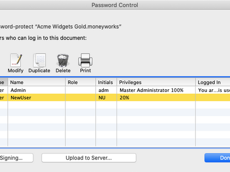 Upload file to the MoneyWorks Now Cloud Server