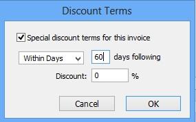 Payment Terms