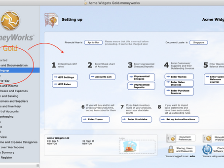 Accounting software for the school classroom and student