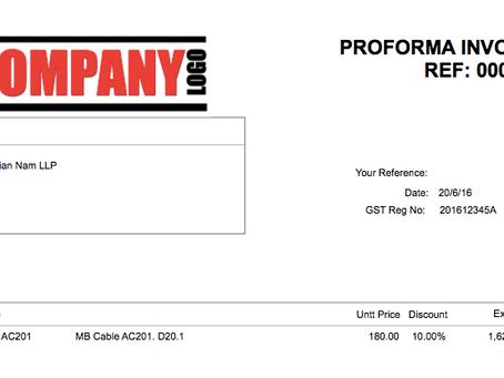 Pro Forma Invoice (Proforma Invoice)