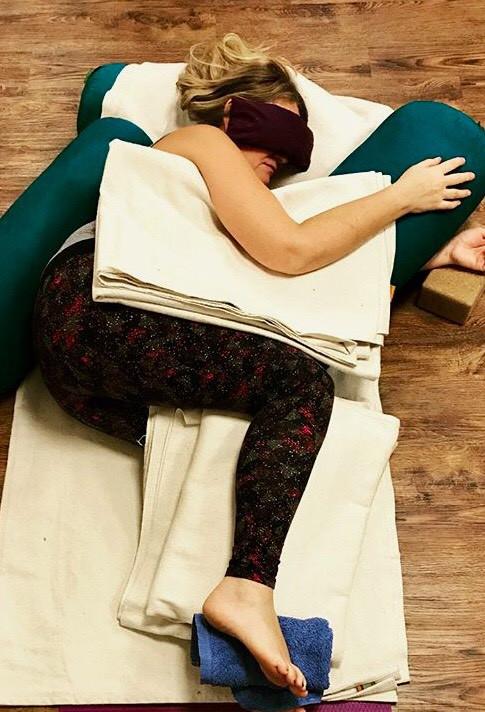 Restorative Yoga - Lyn Hill Sacred Awakenings