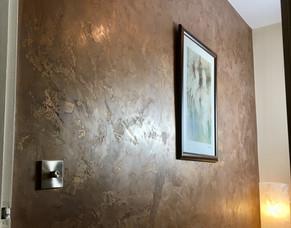 Marmorino Finished Wall Design