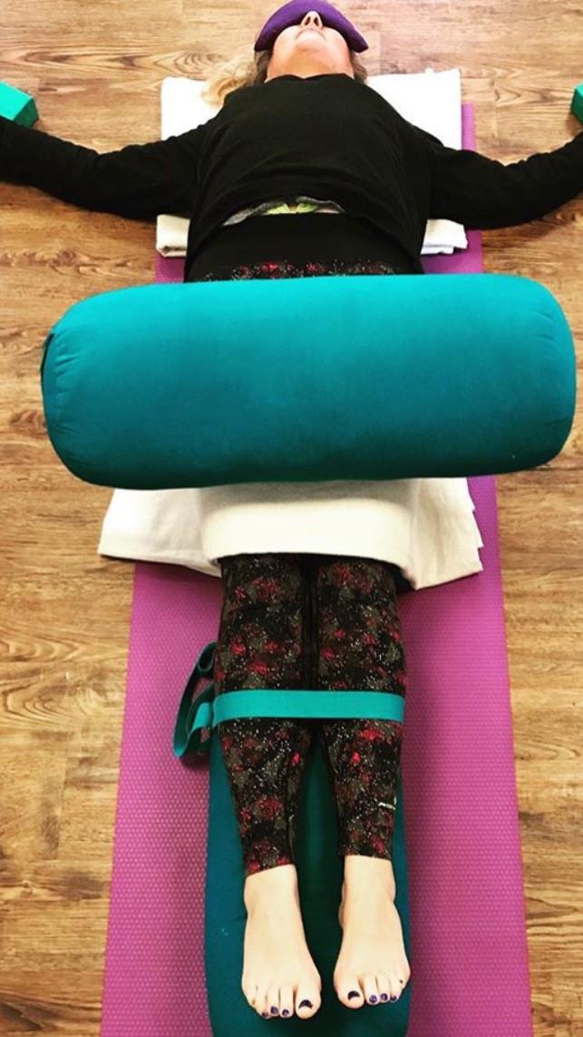 Lyn Hill Sacred Awakenings Restorative Yoga
