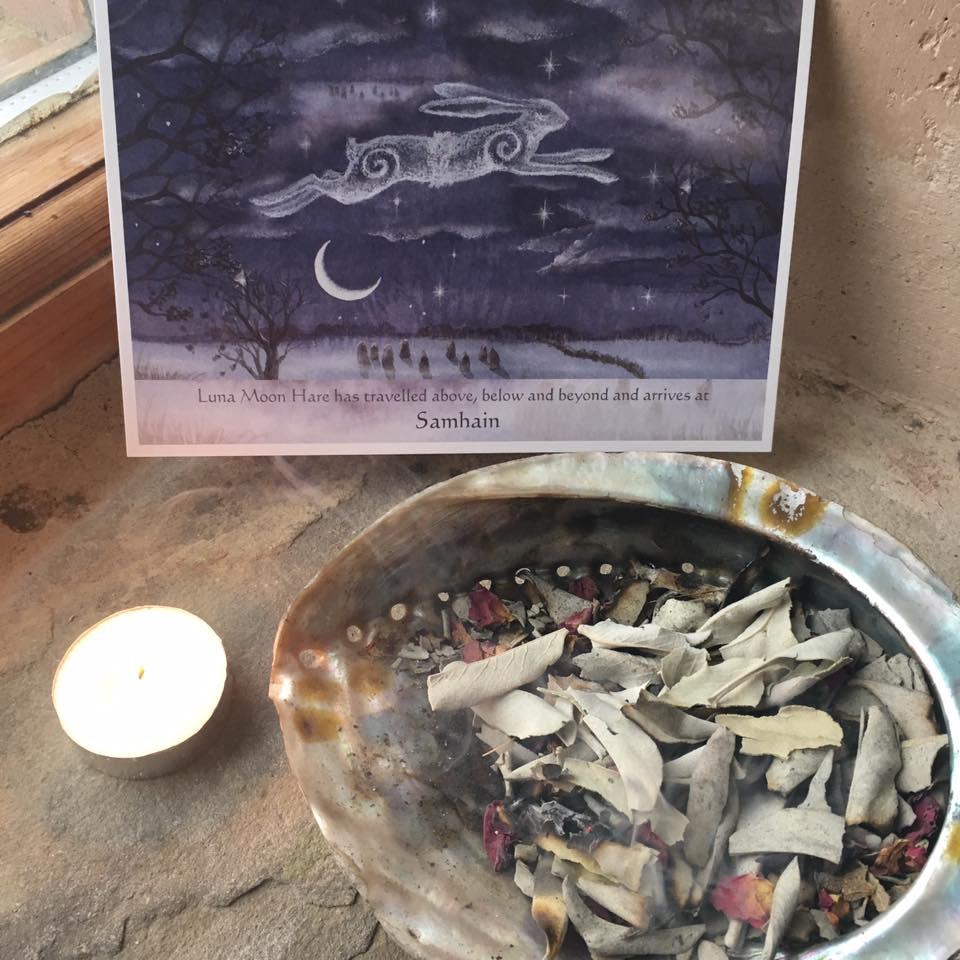 Sacred Awakening by Lyn Hill - Samhaim