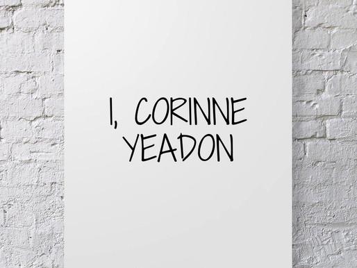 I, Corinne Yeadon.