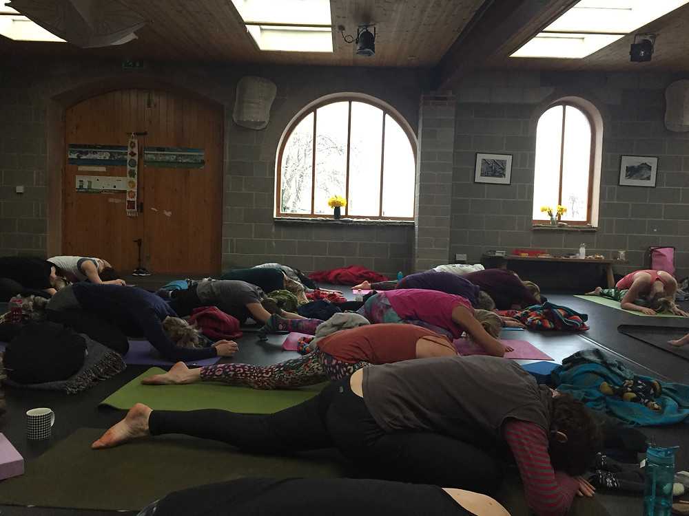 Womb Yoga at Sacred Awakenings