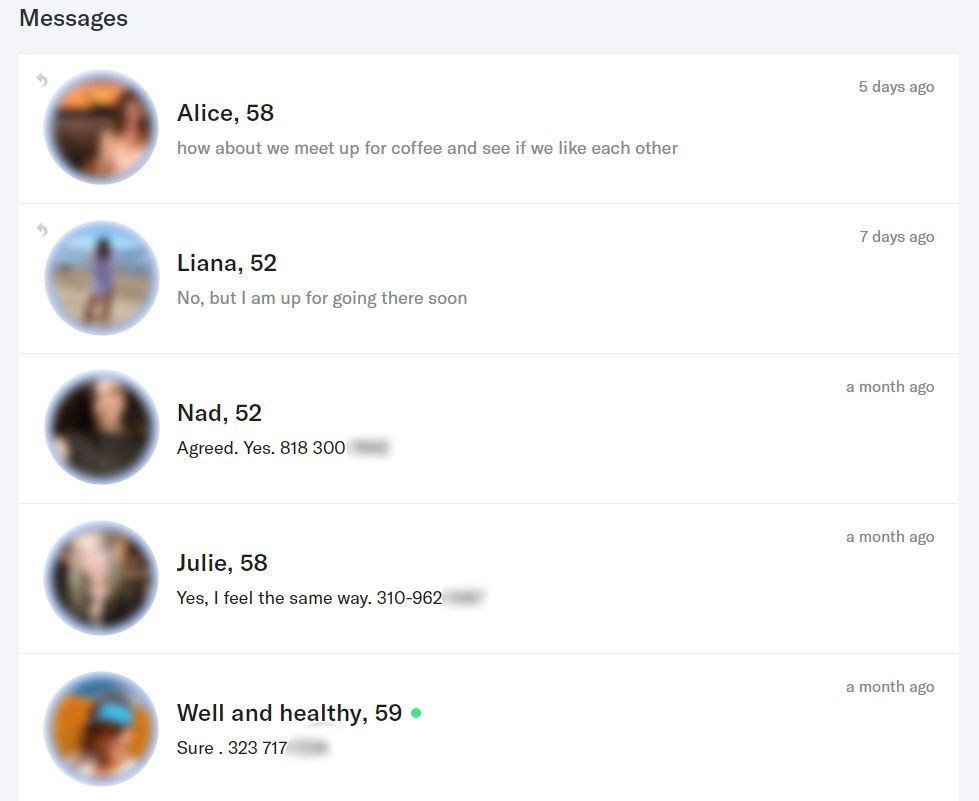 OkCupid Profile Management Results