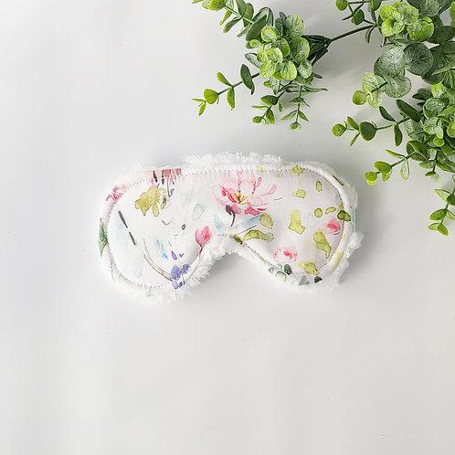 Sweet Spring Watercolor Sleep Mask