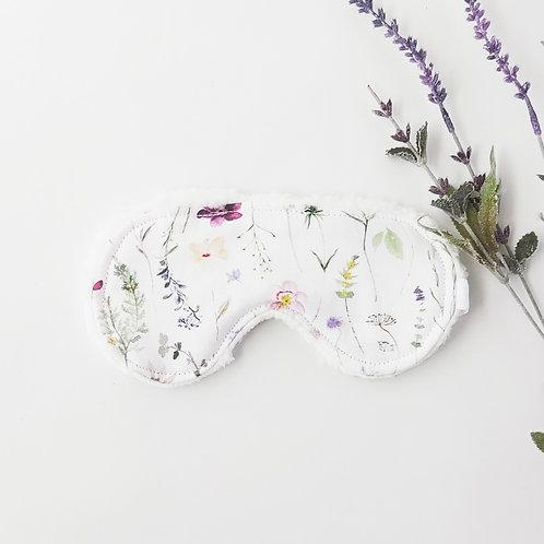 Minimalist Wildflower Sleep Mask