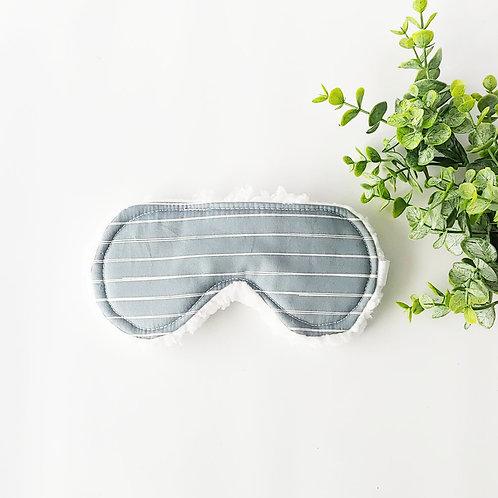 Stripe in Charcoal Sleep Mask