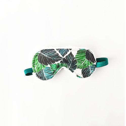 Tropical Greenery Sleep Mask