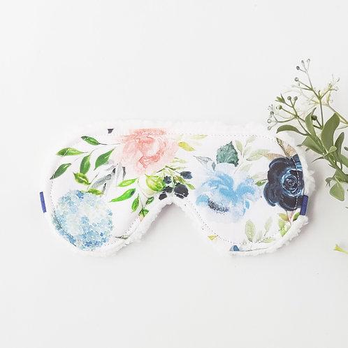 Blush + Indigo Florals Sleep Mask