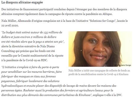 """""""La diaspora africaine est engagée"""""""