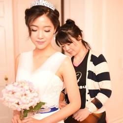 Bridal makeup and hair, and dresses #birminghamlife #suttoncoldfield #bridalwear #bridalhair #bbcchi
