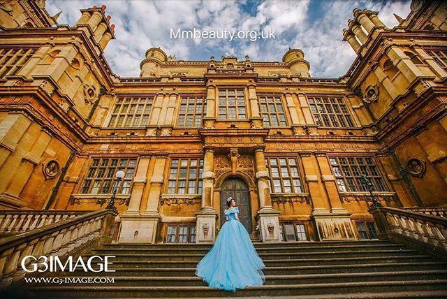 Cinderella #makeupartist #英国 #weddingdress #weddingmakeup #travelphotography #weddingphoto #nottingh
