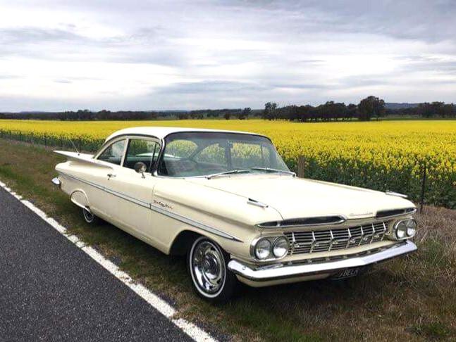 1959 Cream Belair