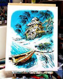 """Beach Hut Heaven"""