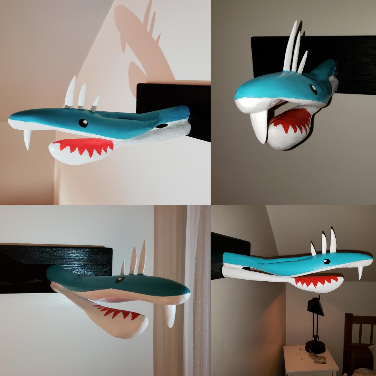 Spike the shark head