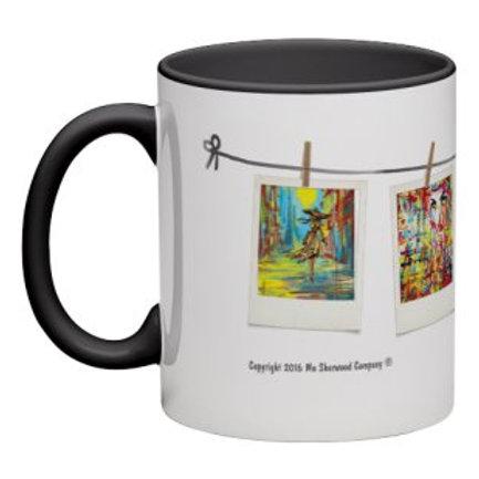 Art Music & Laughter Mug