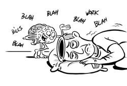 sleepless brain