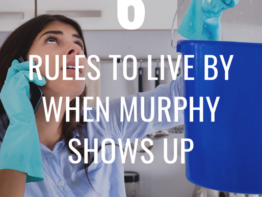 6 Rules to Live by When Murphy Shows up