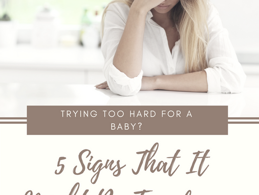 Trying Too Hard? 5 Signs That It Might Be Time for a Break