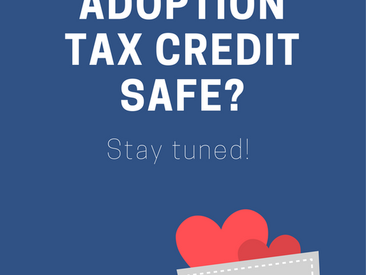 Adoption Tax Credit Safe...for Now