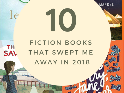 10 Fiction Books That Swept Me Away in 2018