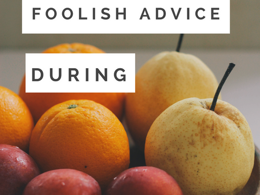 Infertility & Foolish Advice