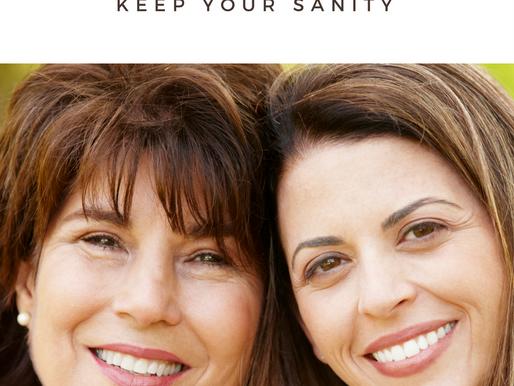 Honor Your Mom, Keep Your Sanity