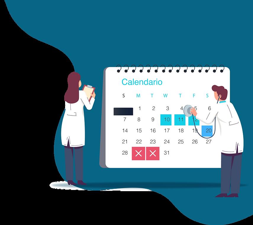 Doctores y calendario de cursos
