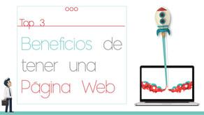 Páginas Web.