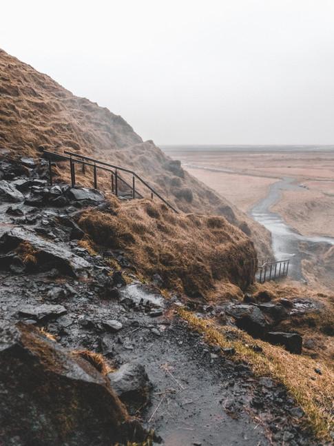 The Steps To Seljalandsfoss