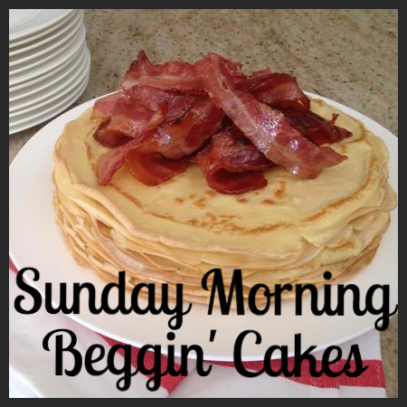 Sunday Morning Beggin' Cakes_Recipe of the Month_Friends of the Animal Village
