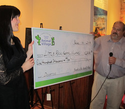 Now That's a Big Check!