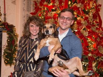 Scenes from Santa Paws 2014!