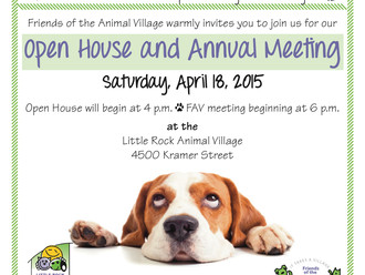 You're Invited! FAV's 2015 Annual Meeting
