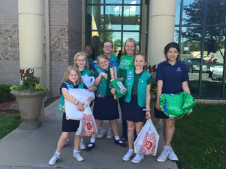Thank you Girl Scout Troop #6499!