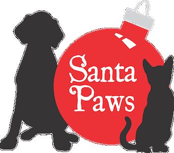 Santa Paws logo_Friends of the Animal Village