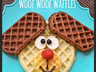 Recipe of the Month :: Woof Woof Waffles