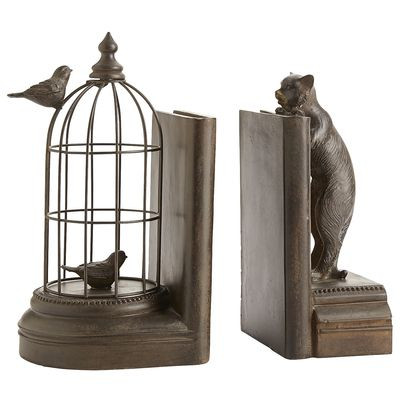 12_Cat & Birdcage Bookend Set_PIER 1 IMPORTS.jpg