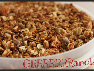 Recipe of the Week :: GRRRRRRRanola