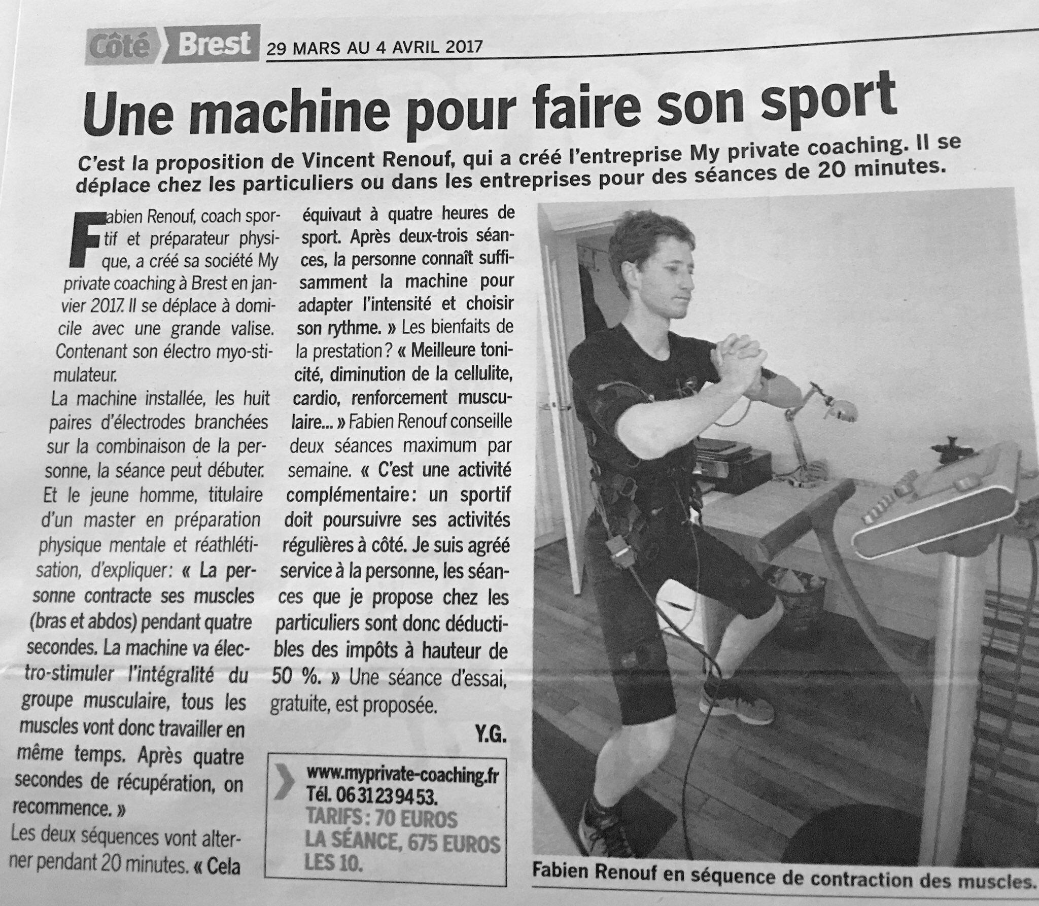 Article Côté Brest