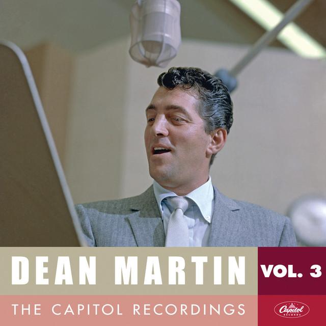 Dean Martin album cover for The Capitol Recordings