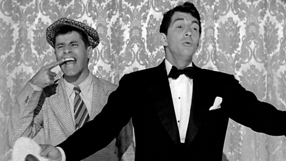 Dean Martin and Jerry Lewis snapshot from the movie The Stooge