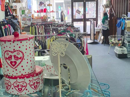 Charity shop now open on Wednesdays
