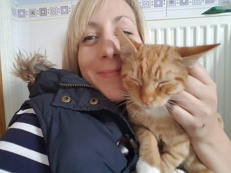Charlie plans fundraising skydive to support Feline Network