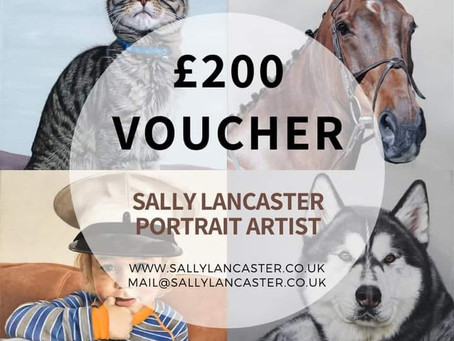 Win a £200 voucher towards a portrait of your pet