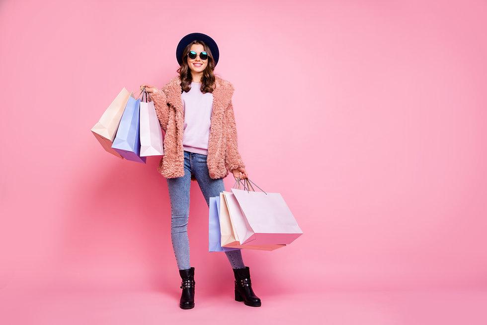 WENGAGE-Pink-shoppin-female-wonderstore.