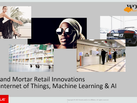 Brick-and-mortar Retail Innovations with WonderStore and Machine Learning